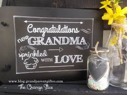 how to hold a grandma shower the sprinkle the orange slicethe