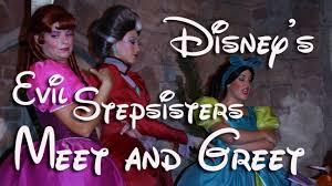 cinderella ugly stepsisters halloween costumes evil stepsisters u0026 wicked stepmother meet u0026 greet at mickey u0027s not