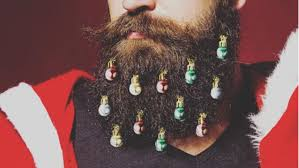 beard ornaments you can now decorate your beard with christmas ornaments sick