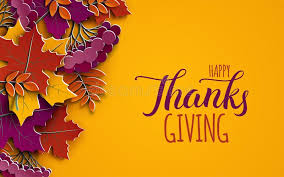 thanksgiving banner with congratulation text autumn tree