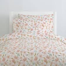 Hawaiian Bedding Pink Hawaiian Floral Duvet Cover Carousel Designs