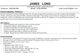 Example Of Resume Personal Information by How To Write A Personal Statement For A Cv Template