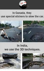 Car Meme Stickers - in canada they use special stickers to slow the car in india we use