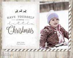 rustic holiday cards etsy