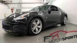 nissan 370z on finance 2009 nissan 370 z black on black 370z nismo wheels brake pkg