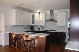 how to finish the top of kitchen cabinets multi tone and multi finish kitchens contemporary kitchen