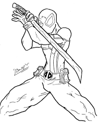 wolverine face colouring pages 5654 deadpool wolverine