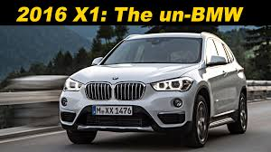 2016 bmw x1 xdrive28i review 2016 2017 bmw x1 review and road test detailed in 4k uhd youtube