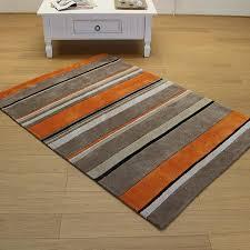 Modern Stripe Rug Wool Brown Wool Rugs Wool Rugs Pinterest Rug