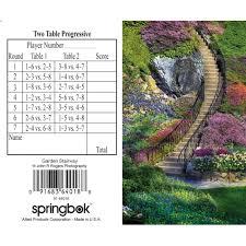 two table progressive tally garden stairway bridge tally sheet 91683640188 calendars com