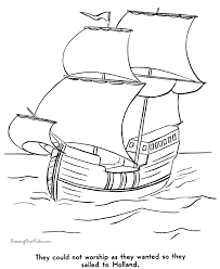 Pilgrims And Thanksgiving History Pilgrims Coloring Pages Thanksgiving