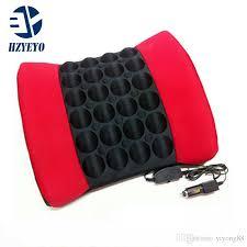 hzyeyo car vehicle vibration lumbar massage cushion massage waist