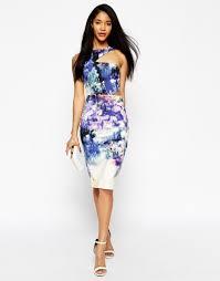 blue floral bridesmaid dress good dresses