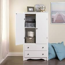 white armoire wardrobe bedroom furniture prepac monterey white armoire wdc 3359 k the home depot