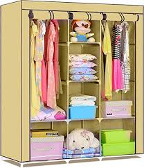 fancy and portable foldable closet wardrobe cabinet portable