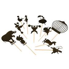 circus puppets shadow theater circus puppets