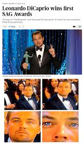 Leonardo Dicaprio Oscar Meme - i m realizing that leonardo will win an oscar leonardo