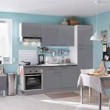 installer cuisine equipee pose d une cuisine équipée tout en un l 240cm leroy merlin