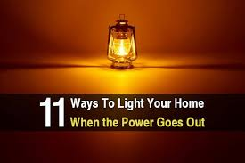 light that comes on when power goes out 11 ways to light your home when the power goes out