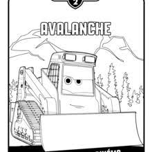 avalanche planes 2 coloring pages hellokids