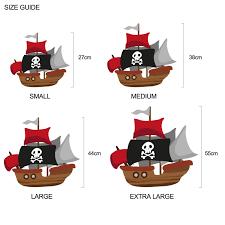 pirate ship wall sticker wall stickers