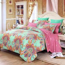 pink and green bedding sets spillo caves