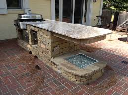 outdoor kitchen island granite marble outdoor kitchen st louis mo contractor