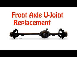 1994 jeep grand front axle jeep front axle u joint replacement diy detailed