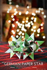 German Christmas Party Decorations by German Paper Star Tutorial Thumb Png