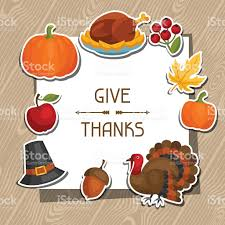 happy thanksgiving clipart free happy thanksgiving day background design with holiday sticker