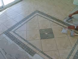 how to lay bathroom floor tile