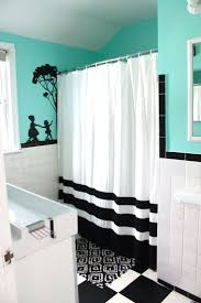 Black White Turquoise Teal Blue by Curtains Teal And Black Curtains Resourcefulness Washable
