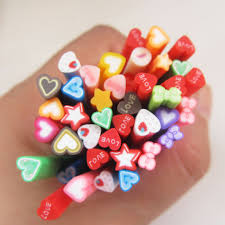 fimo nail art canes hearts promotion shop for promotional fimo
