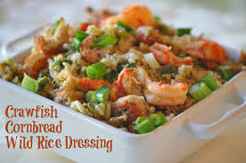 amazing crawfish cornbread rice dressing recipe for