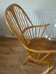 Ercol Windsor Rocking Chair Antiques Atlas Vintage Ercol Chairmakers Chairs