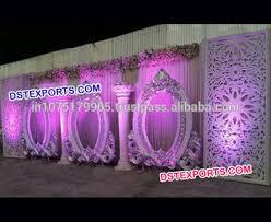 wedding backdrop panels white wedding stage backdrop panels shape fiber backdrop