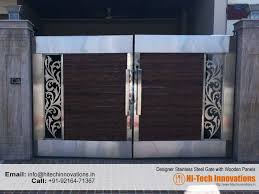 Steel Main Door Design