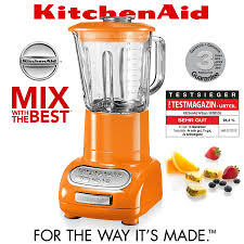 Kitchen Aid Accessories by Kitchenaid Artisan Blender Orange Mixer