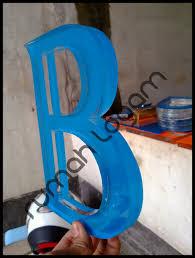 cara membuat kerajinan akrilik huruf timbul acrylic 10 huruf timbul bandung huruf timbul