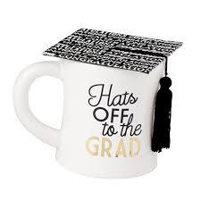 graduation mug graduation cap mugs mud pie mud pie
