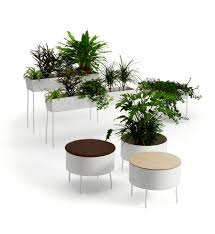 green pedestals offecct plant art decoration pinterest
