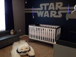 Star Wars Bedroom Furniture by This Starwars Nursery Is Fit For A Baby Jedi Disney Baby