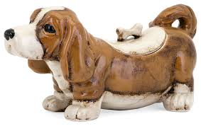 bently the dog cookie jar contemporary kitchen canisters and