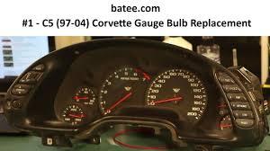 corvette instrument cluster repair 97 04 corvette fix 1 instrument panel repair replace bulb