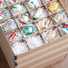 archival ornament storage boxes the container store