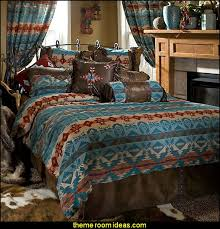 Newsprint Comforter Decorating Theme Bedrooms Maries Manor Southwestern American