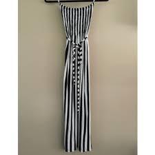 zinga zinga black and white striped maxi dress from jordan u0027s