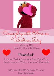elmo valentines sold out spend valentines day with elmo at magic sky play