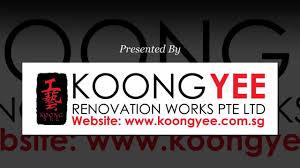koong yee renovation works introduction youtube