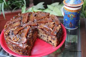 walnut upside down banana cake recipe u2014 dishmaps